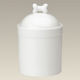 "Dog Treat Jar, 9"" high"