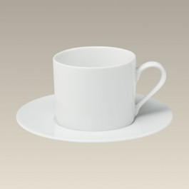 Can Shape Cup & Saucer, 7 oz