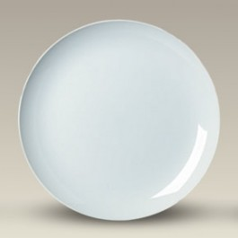 "10.75"" Porcelain Coupe Dinner Plate"