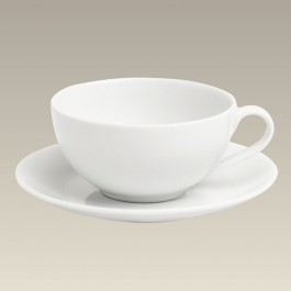 7 oz. Coupe Cup and Saucer
