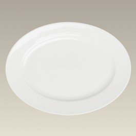 """14"""" Oval Platter, SELECTED SECONDS"""