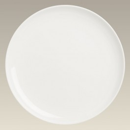 "10.25"" Ivory Coupe Plate"
