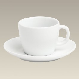 3 oz. Coupe Espresso Cup and Saucer