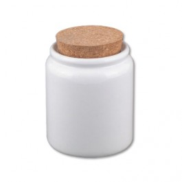 Small Canister with Cork Lid