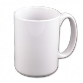 """15 oz.  Stoneware """"El Grande"""" Sublimation Mug (Individually priced but you must order in multiples of 24)"""