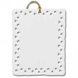 "3"" Rectangle Openwork Sublimation Ornament"