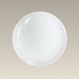 """8.25"""" Coupe Plate for Sublimation"""
