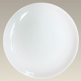 """10.75"""" Coupe Plate for Sublimation"""