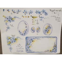 Forget Me Nots by Gladys Galloway