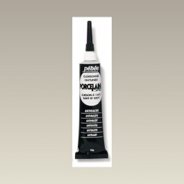 Porcelaine 150 Outliner Tube, Black