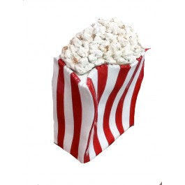 Art Sculpture & Container with removable Popcorn Lid, 12.5""