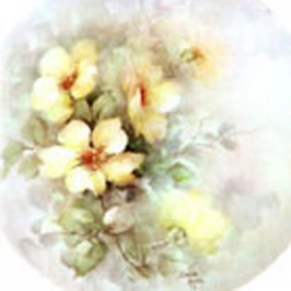 Yellow Wild Roses by Sonie Ames