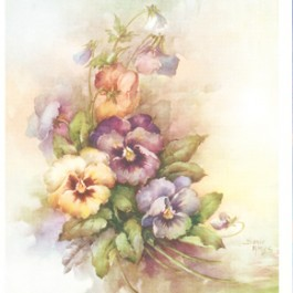 Pansies by Sonie Ames