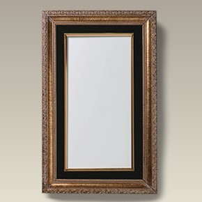 Gold And Velvet Frame With 12 X 6 Tile Maryland China