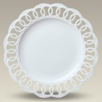"""13"""" Round Openwork Plate, SELECTED SECONDS"""
