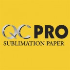 "QC Pro 17"" wide x 100' Sublimation Transfer Paper"