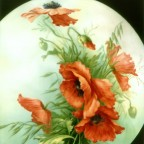 Round Red Poppy by San Do