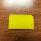 "Rubber Squeegee, 2"" x 3.5"""