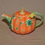 Pumpkin Decorated Teapot