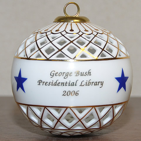 Decorated Ball Ornament